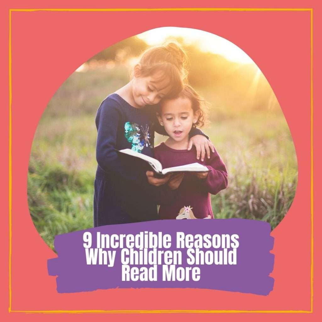 9 Incredible Reasons Why Children Should Read More Cover photo
