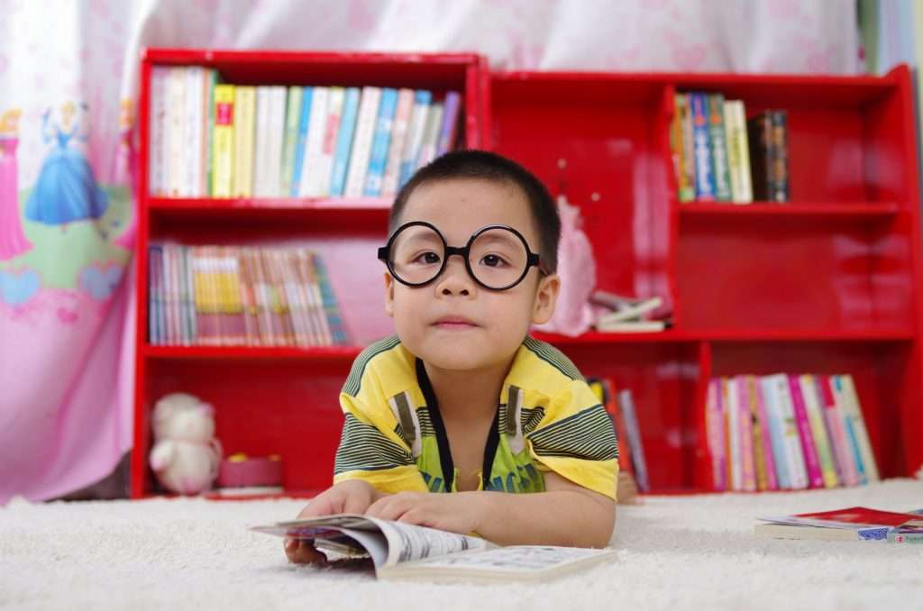The benefits of reading for children - Increased knowledge