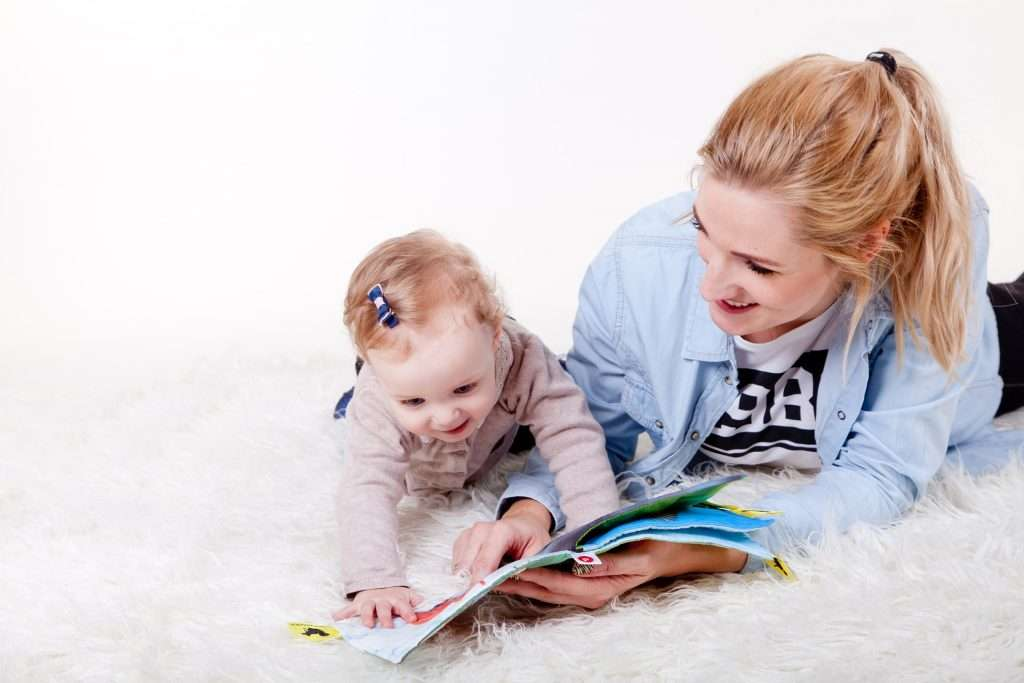 The benefits of reading for children - reading for bonding