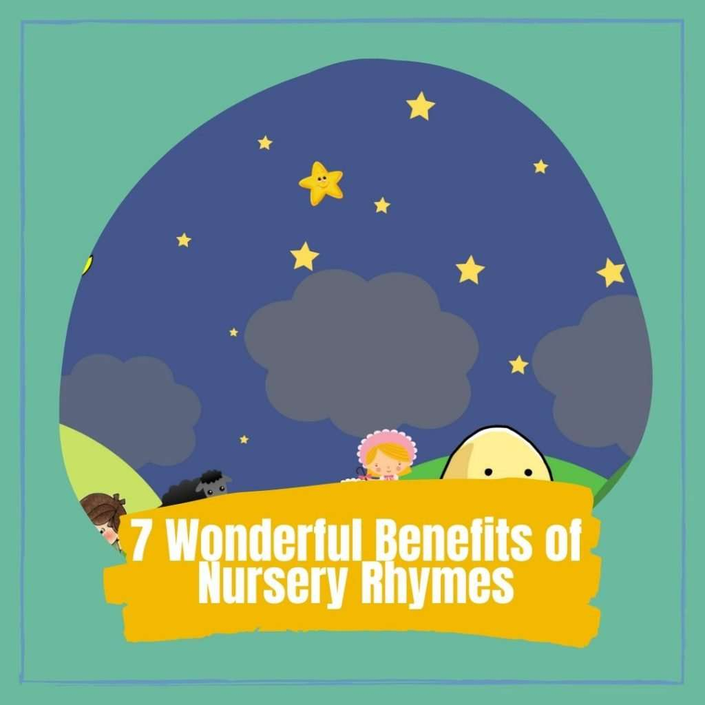 7 Amazing benefits of nursery rhymes for kids Cover photo