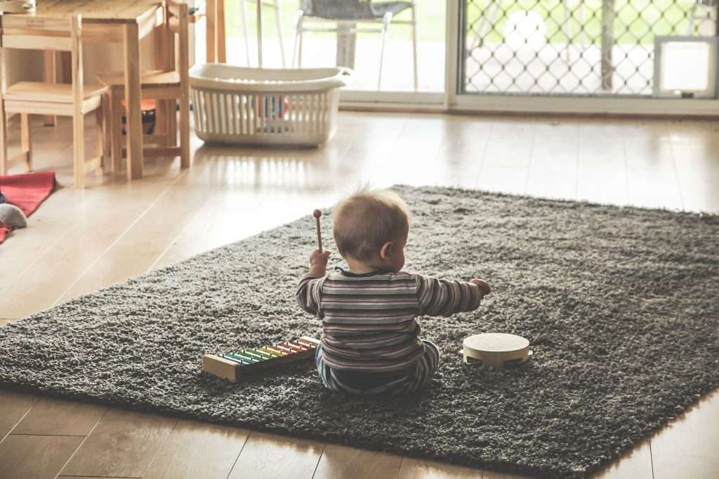 The effects of music on baby development