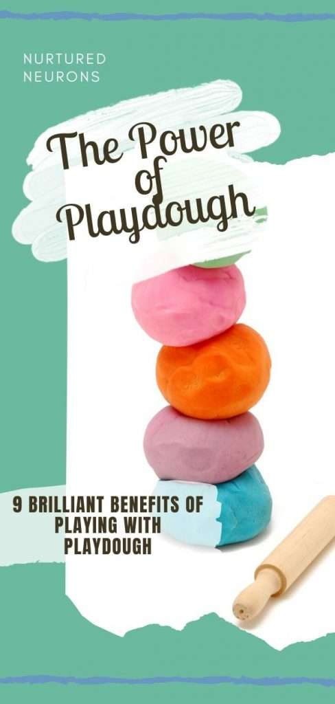 9 brilliant benefits of playing with playdough