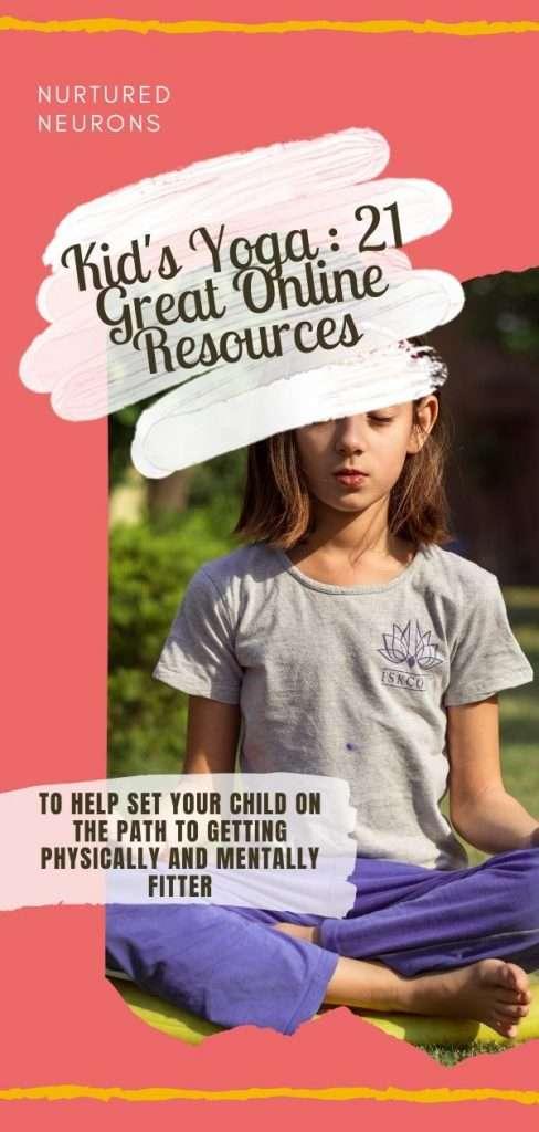 Kid's Yoga - 21 Great Online Resources