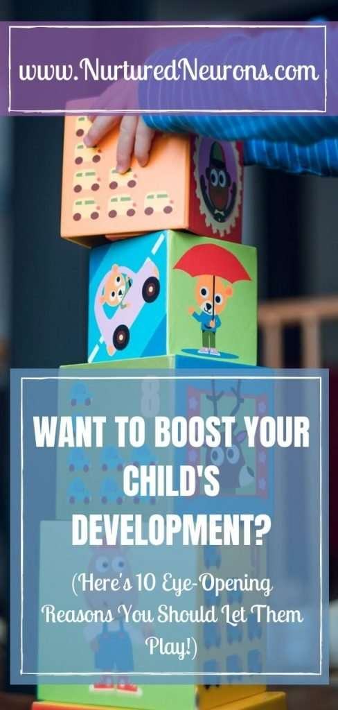 WANT TO BOOST YOUR CHILD'S DEVELOPMENT - 10 amazing benefits of play