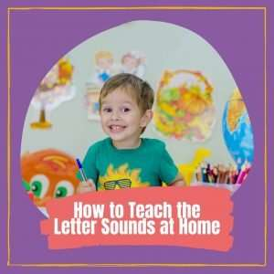 How to Teach the Letter Sounds at home Cover photo