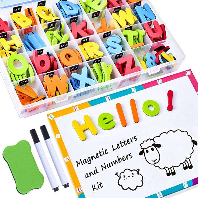 Magnetic Letters for learning phonics