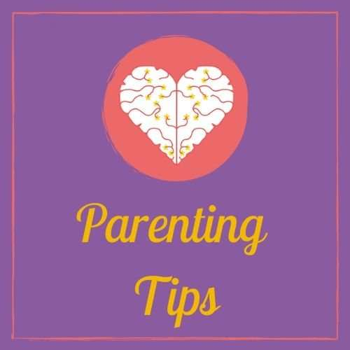 Parenting Tips Button