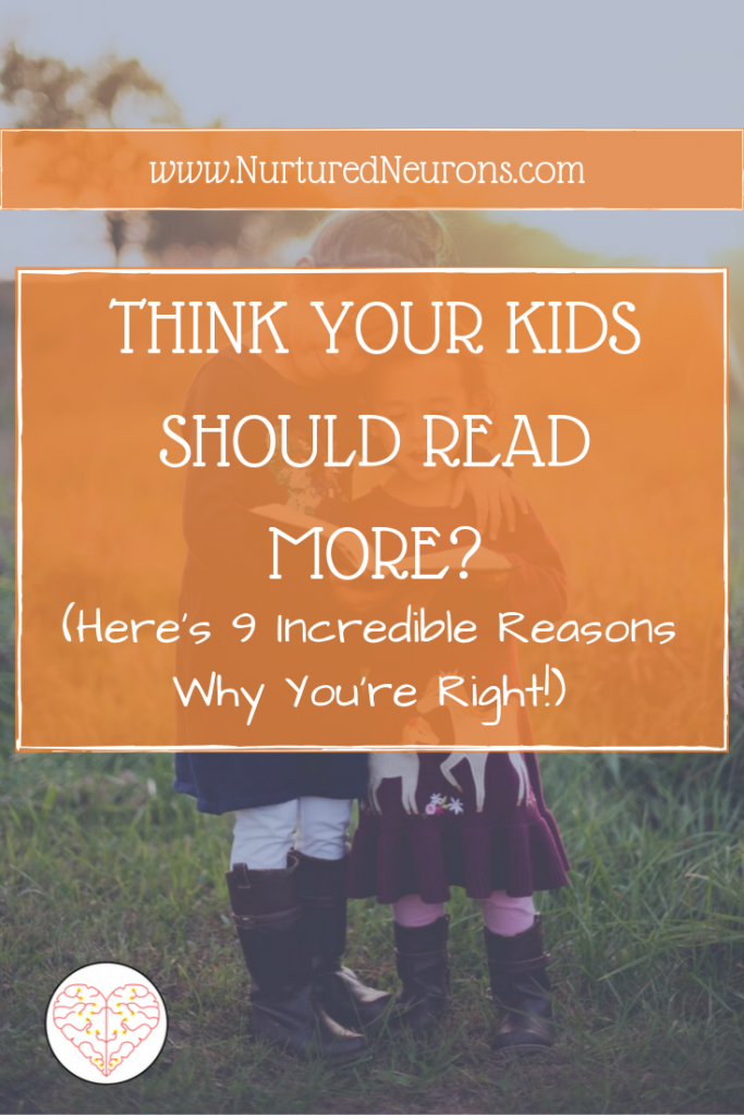 THINK YOUR KIDS SHOULD READ MORE?