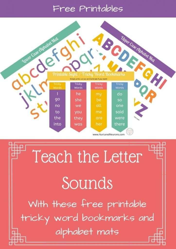 Teach the Letter Sounds Printables