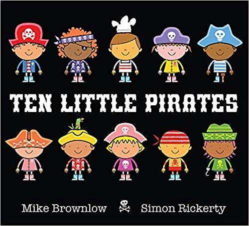 10 Little Pirates