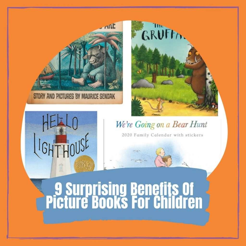 9 Surprising Benefits Of Picture Books For Children