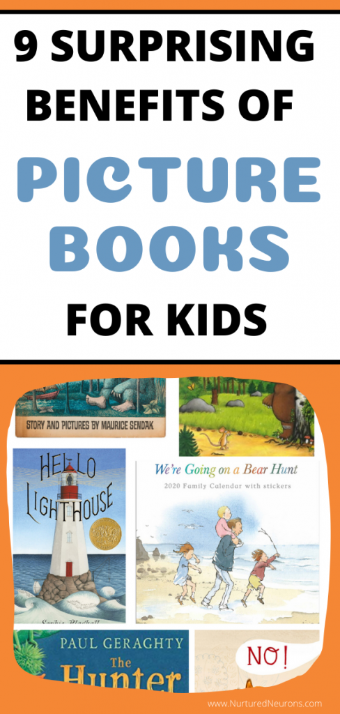 BENEFITS OF PICTURE BOOKS FOR KIDS