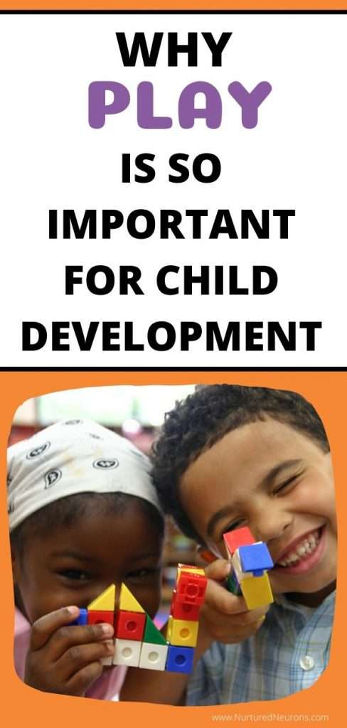 PLAY IS IMPORTANT FOR CHILD DEVELOPMENT