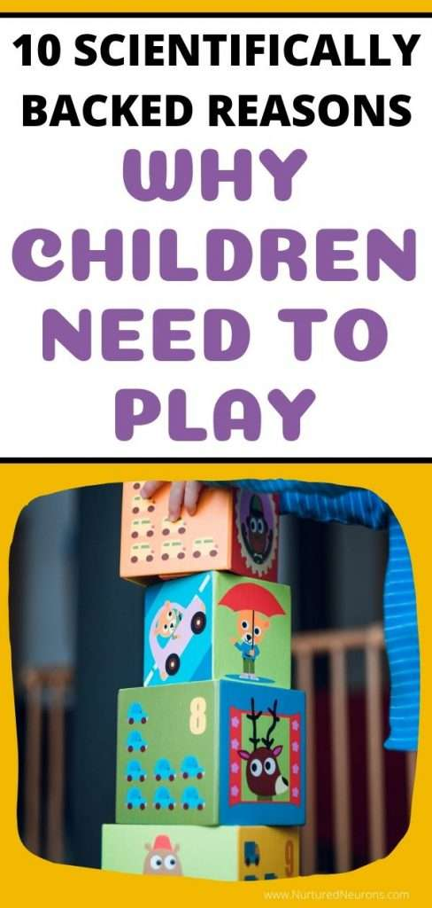 SCIENTIFIC REASONS WHY CHILDREN NEED TO PLAY