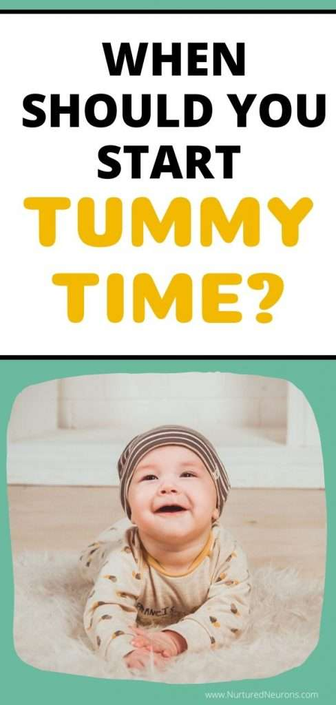 WHEN TO START TUMMY TIME