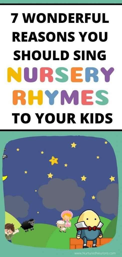 WONDERFUL BENEFITS OF NURSERY RHYMES