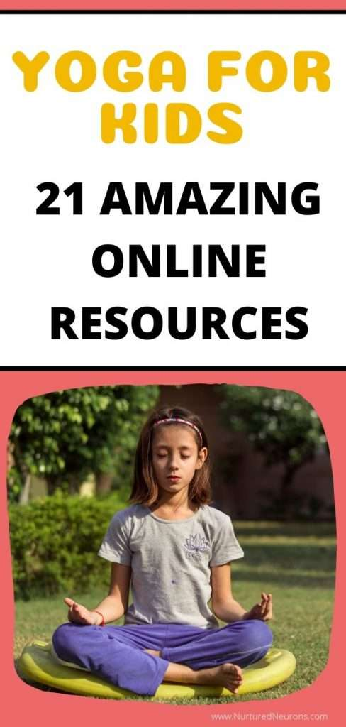 YOGA FOR KIDS - 21 AMAZING RESOURCES