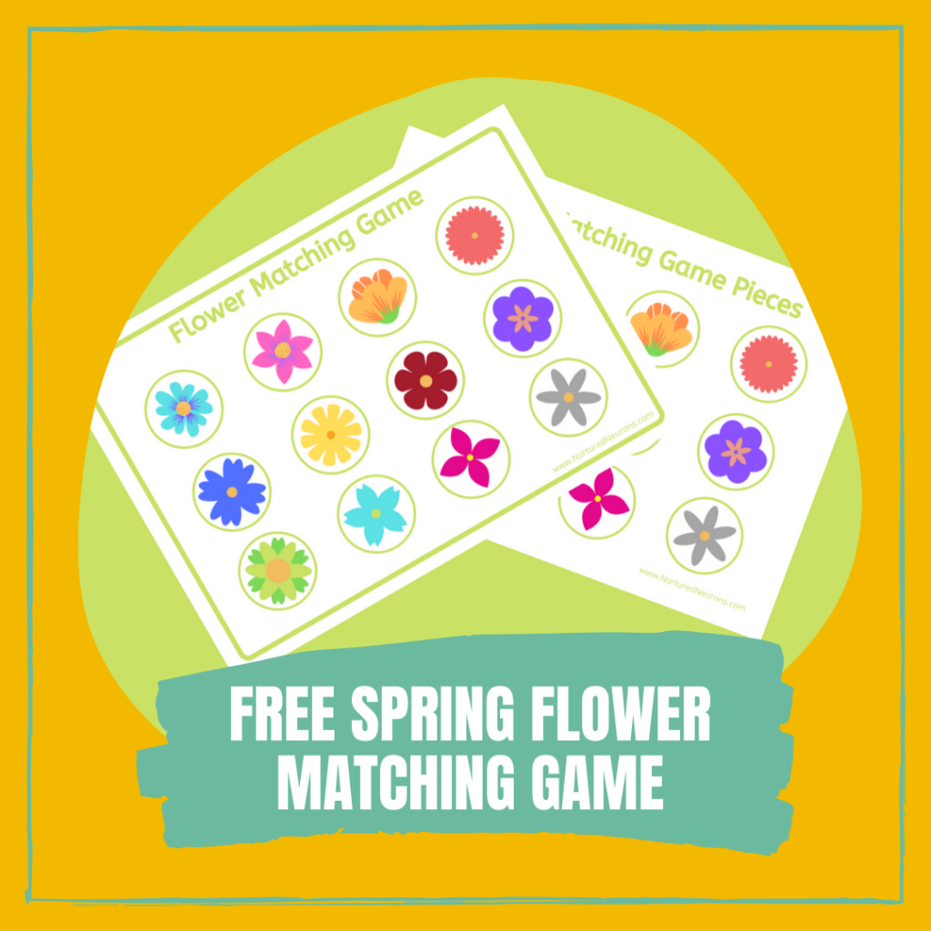 FREE SPRING FLOWER MATCHING GAME