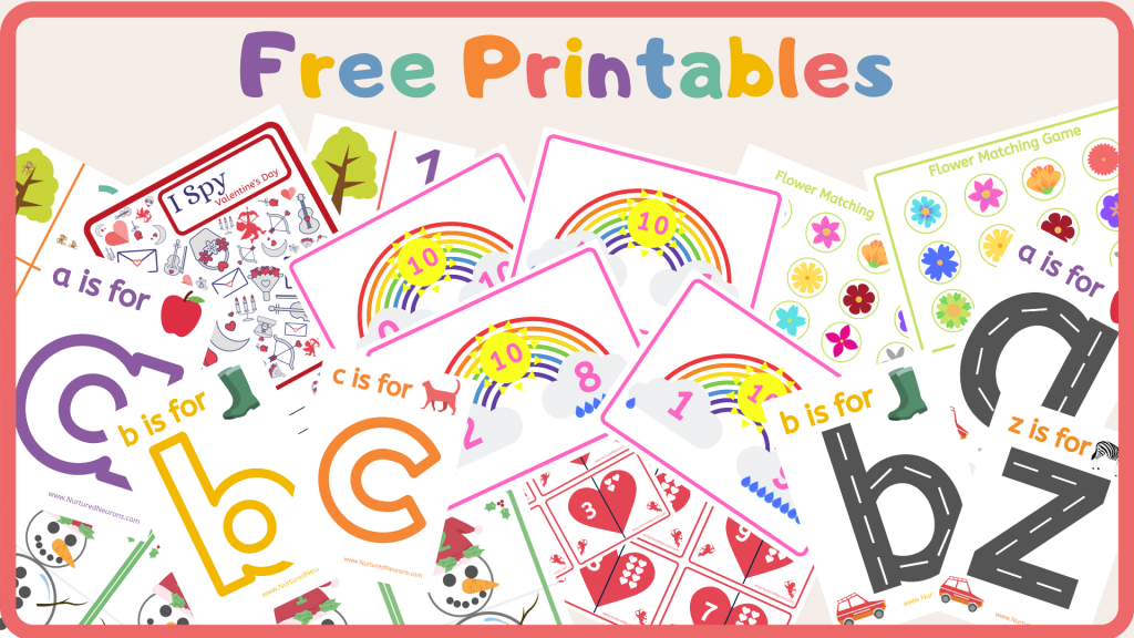 Subscribe For Kid's Free Printables