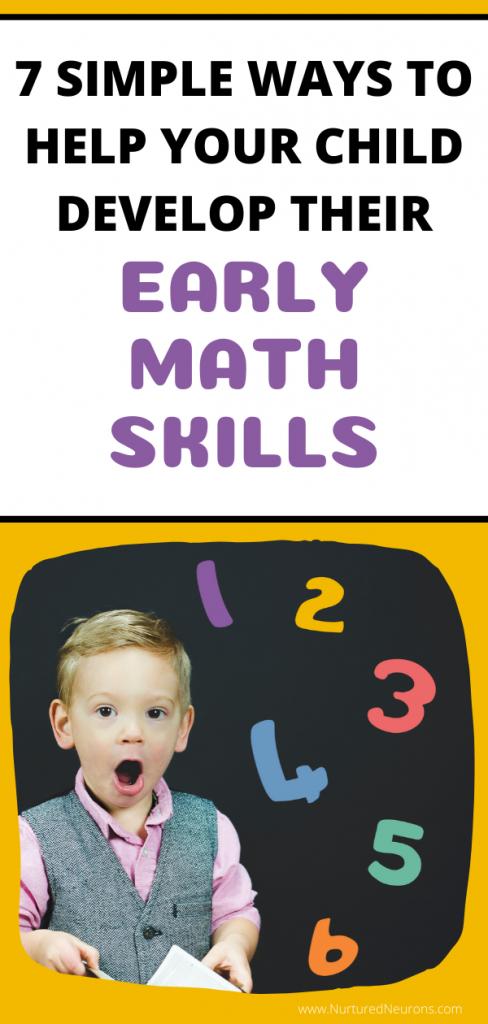 7 SIMPLE WAYS TO HELP YOUR CHILD DEVELOP THEIR PRESCHOOL MATH SKILLS