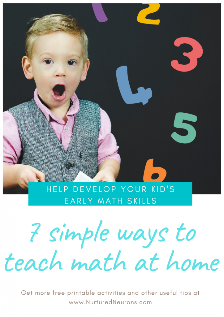 7 simple ways to teach math at home