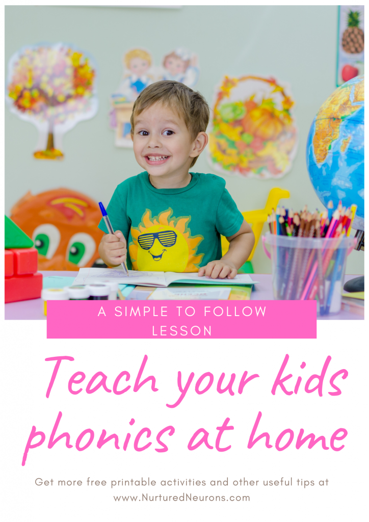 Teach your kids phonics at home