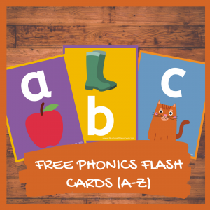 FREE Beginning Sounds FLASH CARDS (A-Z)