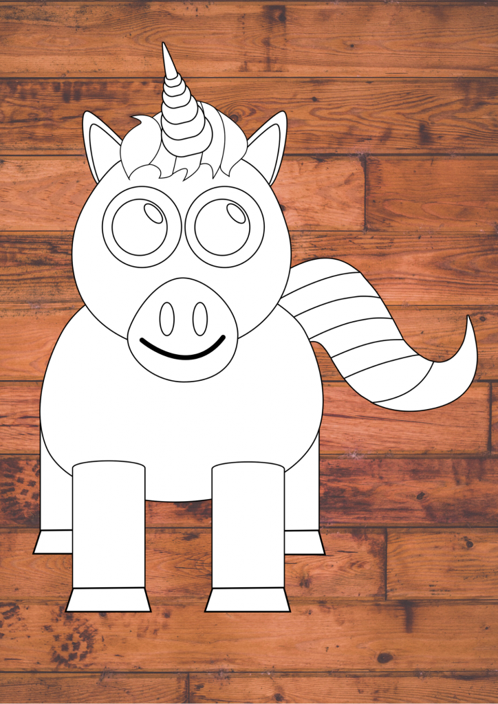 Easy Unicorn Craft