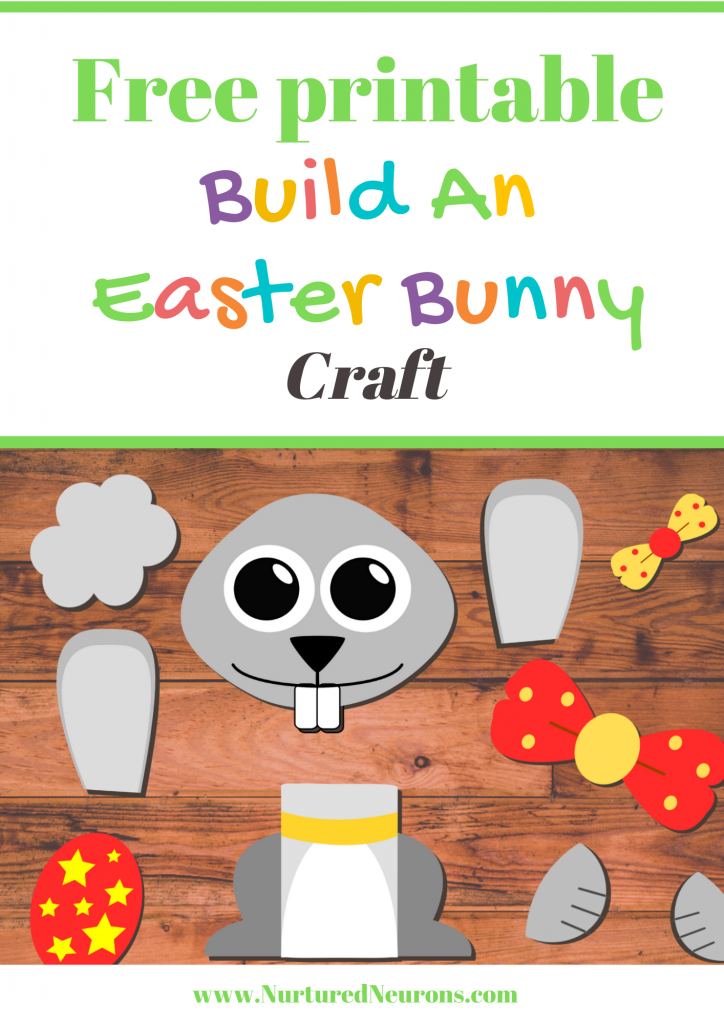 Build An Easter Bunny Craft for toddlers