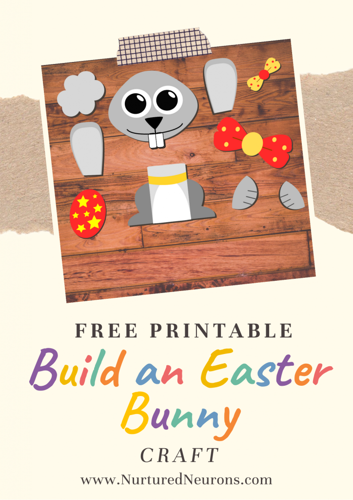 Build An Easter Bunny Simple Craft