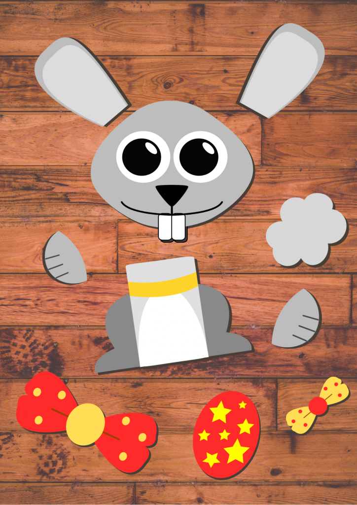 Build an Easter bunny craft for preschoolers