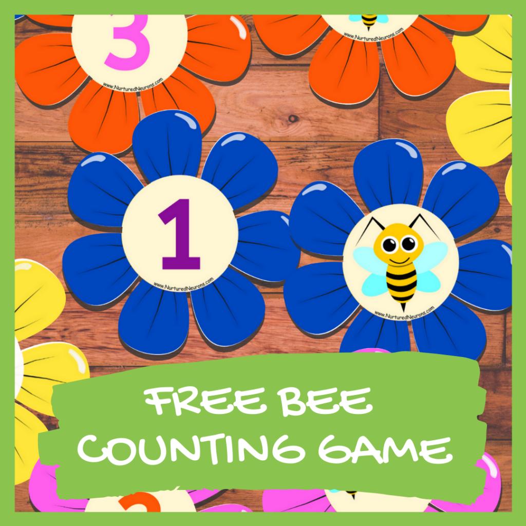 FREE BEE Math GAME