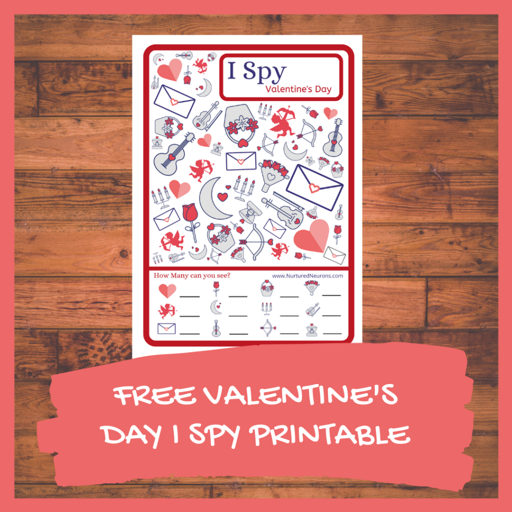 FREE VALENTINE'S DAY I SPY PRINTABLE