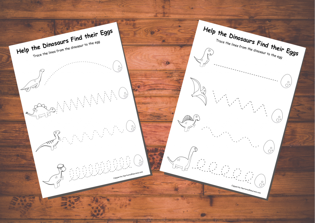 Trace the line printable (free) Black and white
