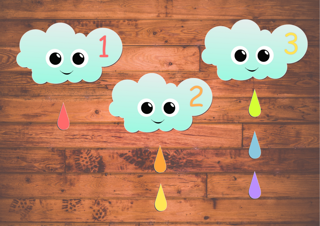 weather preschool printables - a cute math game