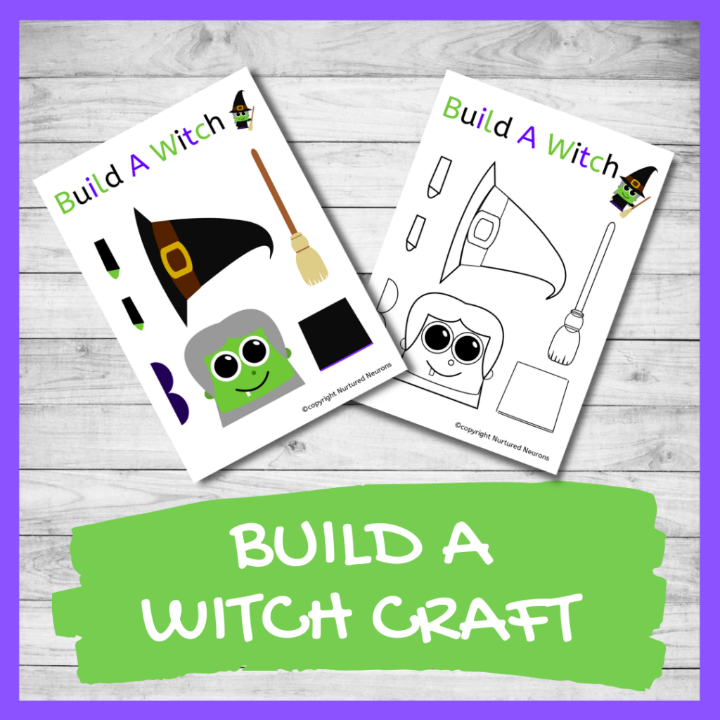FREE PRINTABLE BUILD A WITCH CRAFT