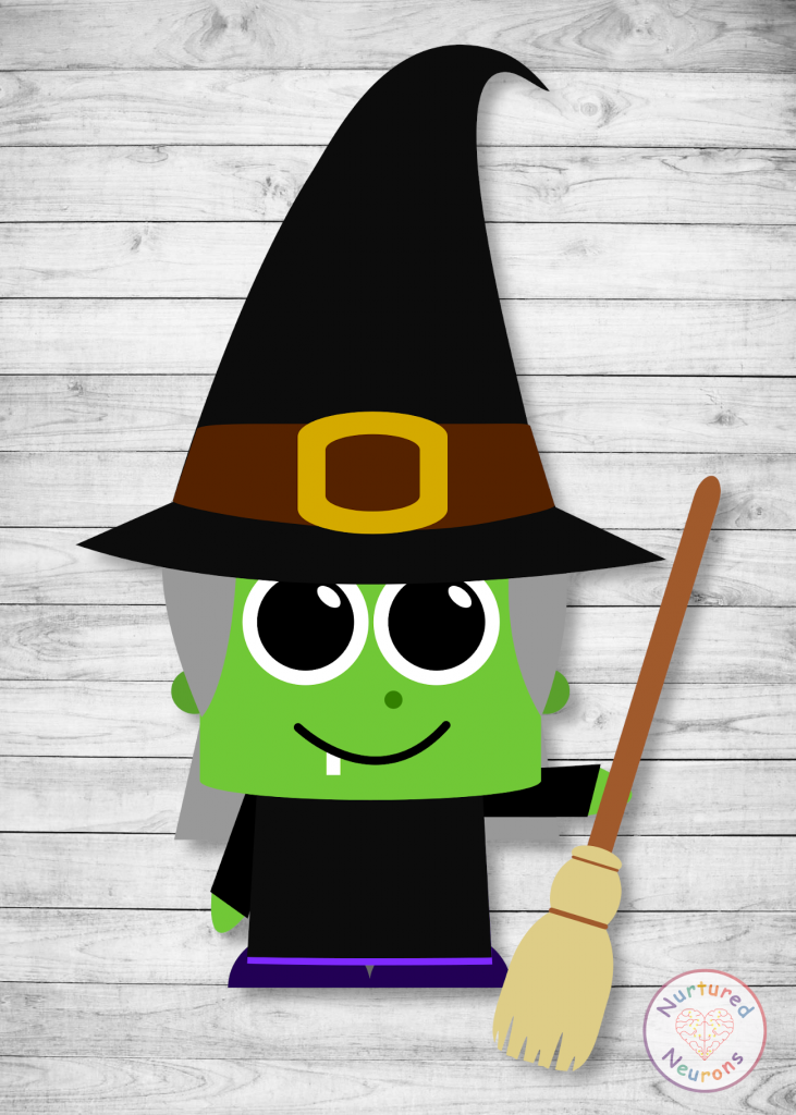 witch craft - free printable templates