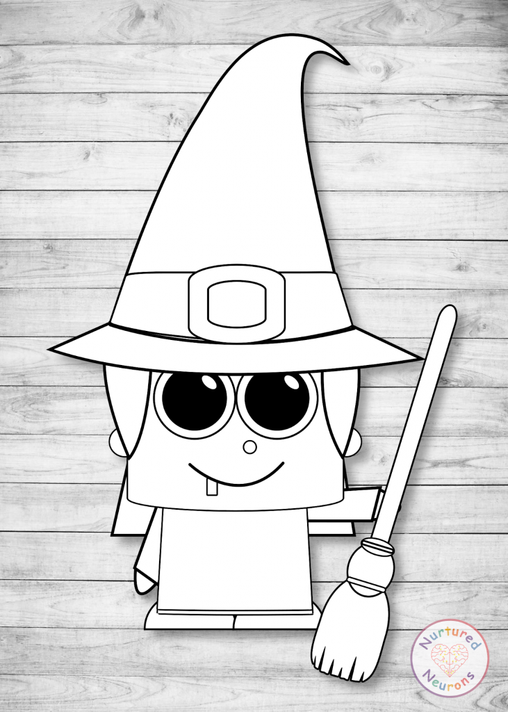 plain witch craft - free printable templates