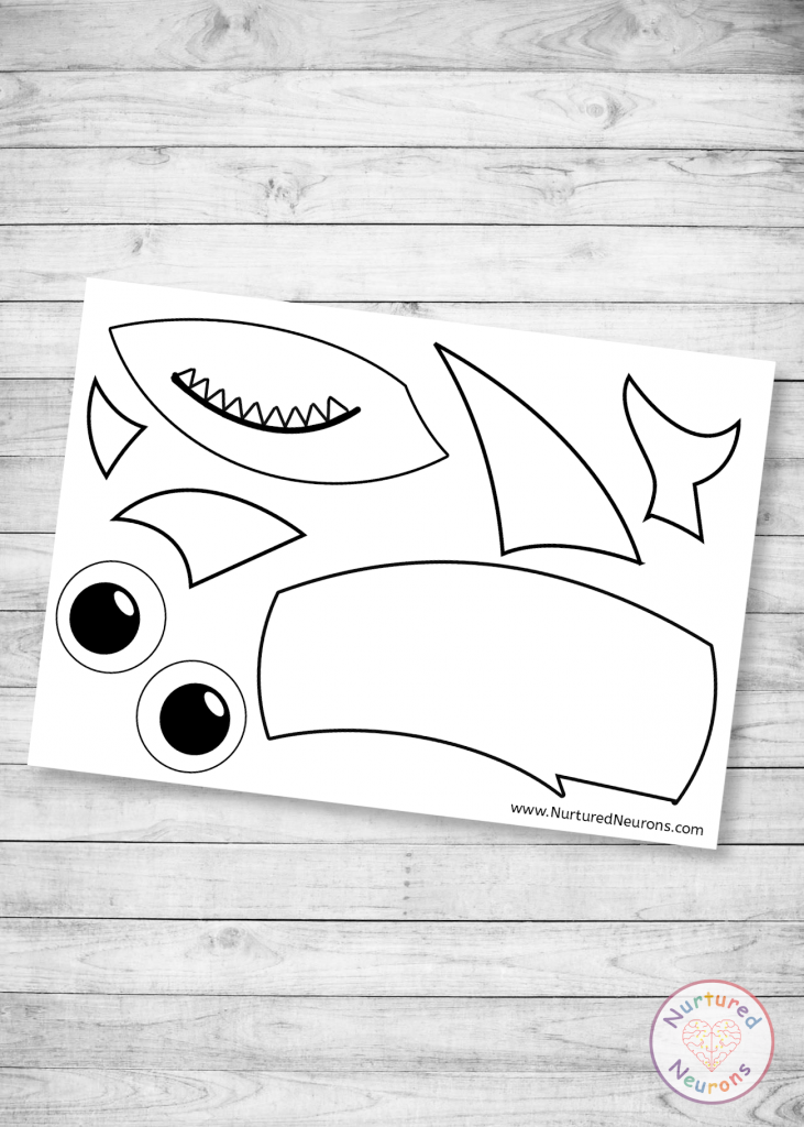 Baby Shark Puzzle Pieces for Toddlers