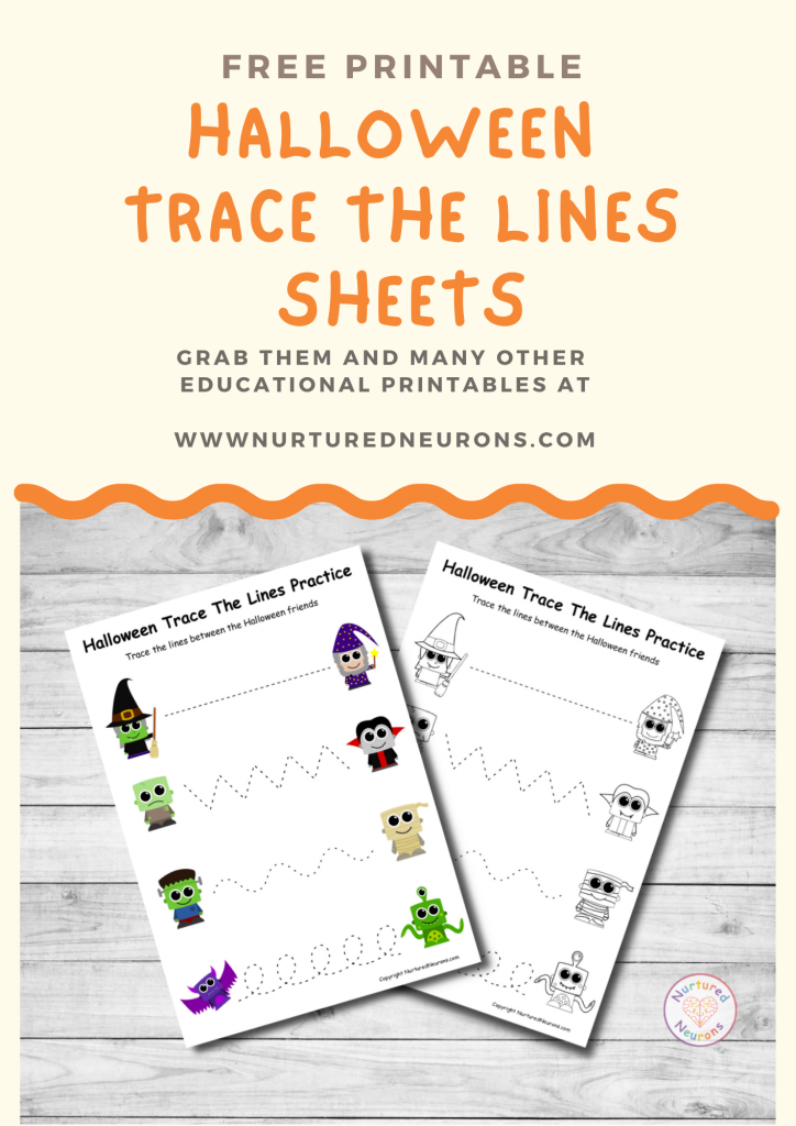 Halloween Shadow Matching Game free preschool printable
