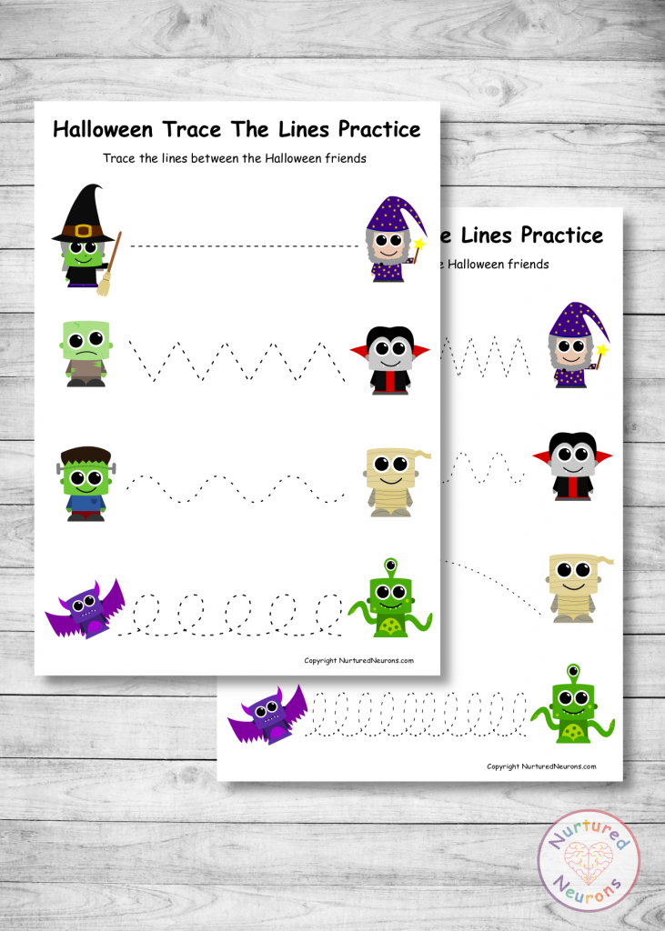 Halloween Tracing Sheets