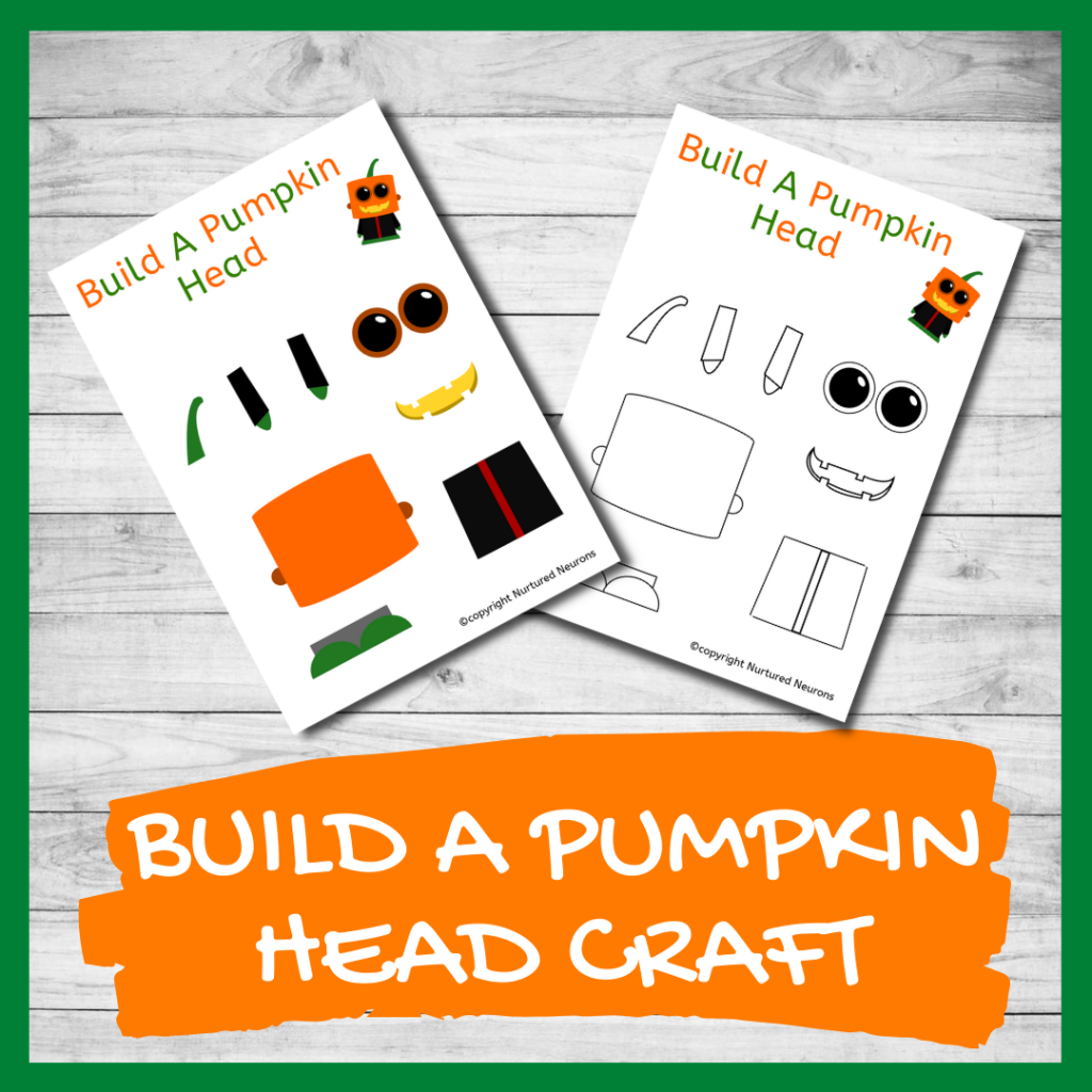 Halloween Character craft