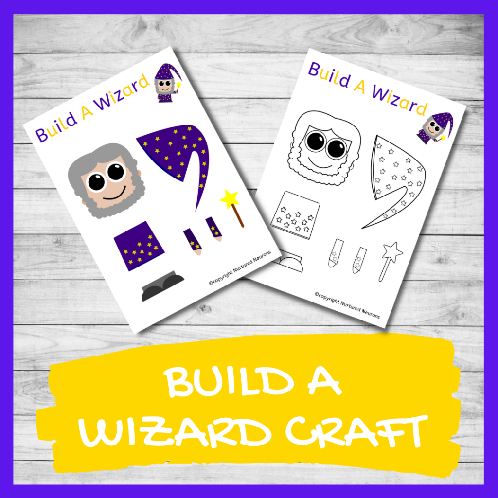 BUILD A WIZARD CRAFT template