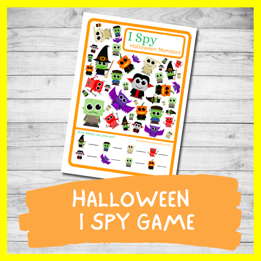 Halloween I Spy GAME FOR TODDLERS AND PRESCHOOL (FREE PRINTABLE)