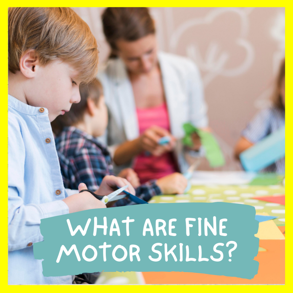 WHAT ARE FINE MOTOR SKILLS_