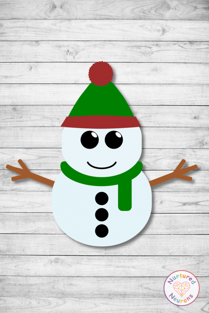 printable snowman template (free preschool download)