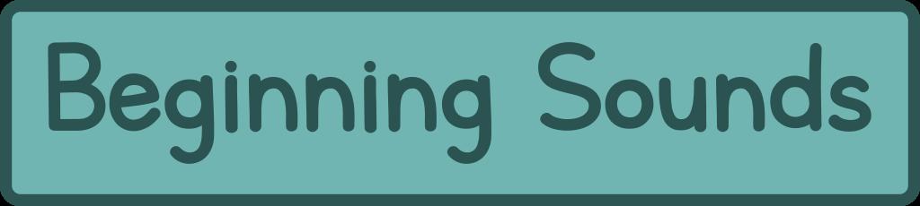 Beginning Sounds Printables, worksheets and games for preschool and kindergarten in pdf