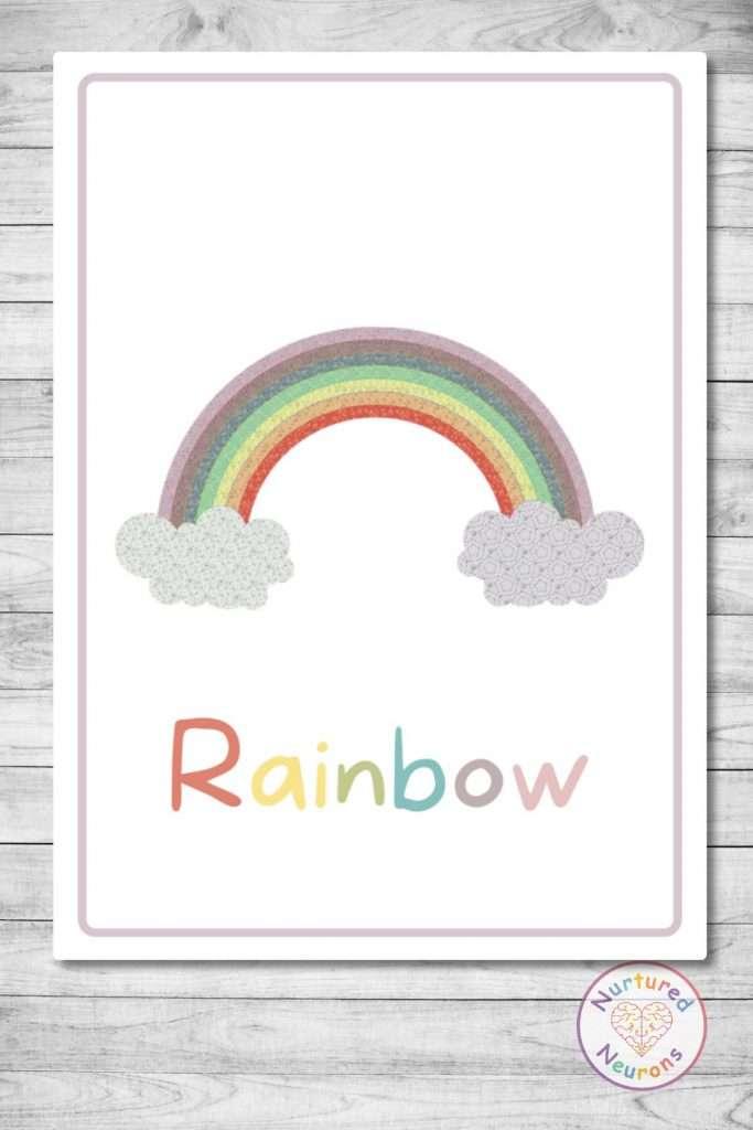 printable weather flashcards for kindergarten and preschool