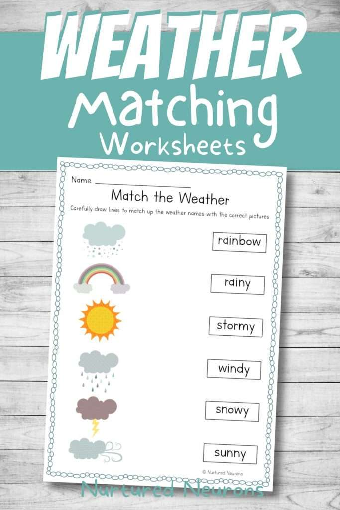 printable weather worksheets for kids in pdf download
