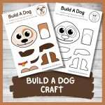 Make a Cute Little Puppy with this Build A Dog Craft